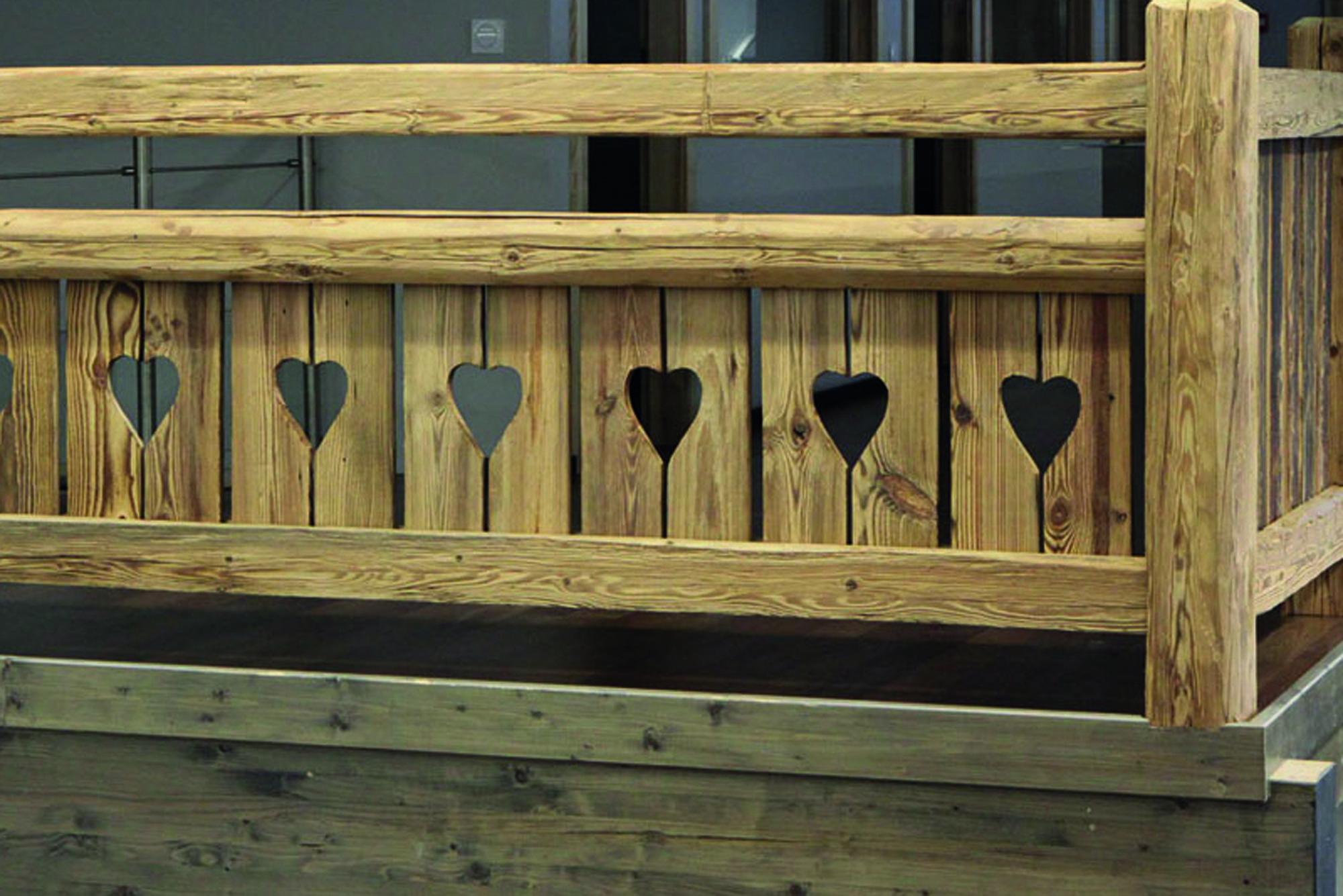 garde corps bois rion bois. Black Bedroom Furniture Sets. Home Design Ideas
