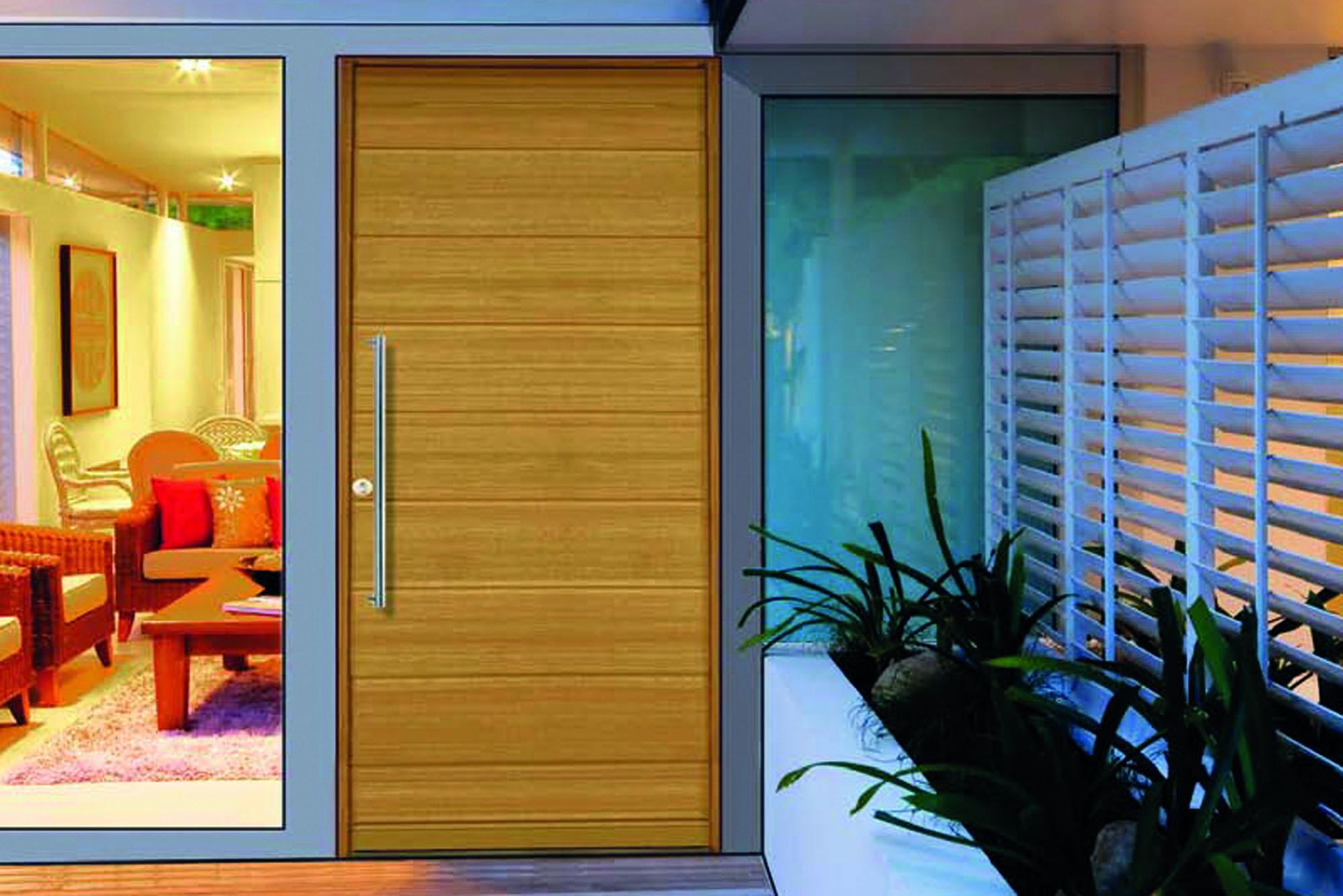 Porte D Entrée Moderne porte d'entrÉe bois moderne   rion bois